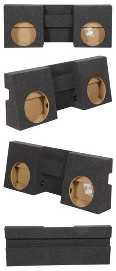 STAGE 3 DUAL PORTED SUBWOOFER MDF ENCLOSURE FOR SUNDOWN X8REV 2 SUB BOX