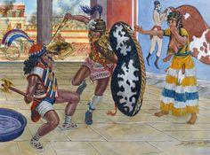 """The Achaean conquest of Knossos, 1.430 BC"", Giuseppe Rava"