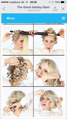 Great gatsby hair tutorial suavecito hair pomade barber products flapperhair suavecita great gatsby hair tutorial good looking braid ideas hairs Great Gatsby Makeup, 1920s Makeup Gatsby, Great Gatsby Outfits, 1920 Gatsby, Great Gatsby Hairstyles, Party Hairstyles, Flapper Hairstyles, 1920s Hair Short, 1920s Style Hair