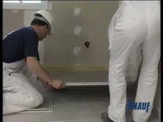 Video técnico de Knauf sobre la colocación de solera seca.