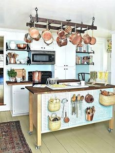 kitchen pegboard - can be added to furniture instead of wall