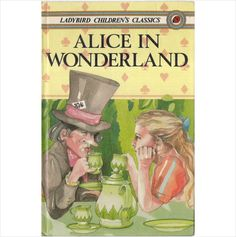 ALICE IN WONDERLAND Ladybird hb 1986 1st edition series 740