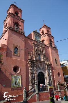 Iglesia y Ex-Convento de San Francisco. Guanajuato. 1728