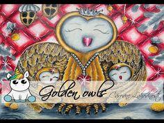 Golden owls carovne lohodnosti by Klara markova