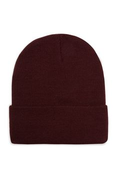 cd04734c8fbfd Deep Cuff Beanie In Burgundy