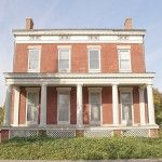 Hoyt-Potter House   This magnificent c. 1840 Greek Revival mansion in Rochester's historic Corn Hill neighborhood, saved from almost certain demolition, has been rehabilitated as Landmark Society headquarters.