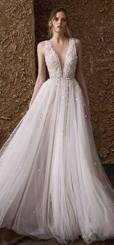 Courtesy of Nurit Hen Wedding Dresses; www.nurit-hen.com #weddingdress