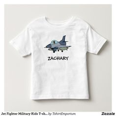 Jet Fighter Military Kids T-shirt