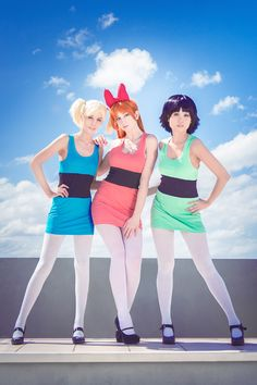 #Cosplay #Powerpuff Girls: Sugar, Spice, Everything Nice by silverharmony
