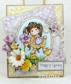DeeDee´s Card Art: ♥ Tilda's Town Challenge DT - Anything Sesonal