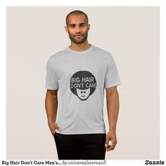 Big Hair Don't Care Men's T-Shirt - Classic Relaxed T-Shirts By Talented Fashion & Graphic Designers - #shirts #tshirts #mensfashion #apparel #shopping #bargain #sale #outfit #stylish #cool #graphicdesign #trendy #fashion #design #fashiondesign #designer #fashiondesigner #style