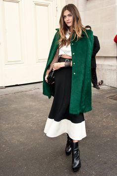Modern French Style Icons; Elisa Sednaoui; via Fashionology