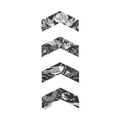 Liam's Chevrons by cyrilliart Forearm Band Tattoos, Tattoo Band, Rune Tattoo, Forearm Tattoo Design, Arrow Tattoos, Chevron Tattoo, Tribal Pattern Tattoos, Back Tattoos For Guys Upper, Small Back Tattoos