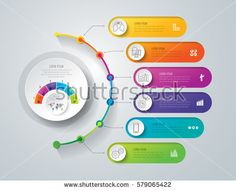 Timeline infographics design vector and marketing icons can be used for workflow layout, diagram, annual report, web design. Business concept with 6 options, steps or processes.I