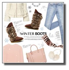 """""""Winter Cool"""" by metropulse ❤ liked on Polyvore featuring Australia Luxe Collective, Elizabeth Roberts, iHeart, Bling Jewelry, Burberry, Accessorize, Allurez and Swarovski"""