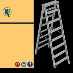 #aluminium #ladders kijeka engineers Aluminium Ladder, Wooden Ladder, Ladders, Engineers, Stairs, Staircases, Stairway, Ladder, Wood Staircase