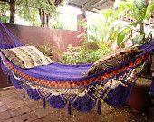 Hand-woven hammocks. $60