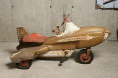 toy airplane trike