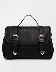 for her: ASOS Casual Strap Front Satchel Bag