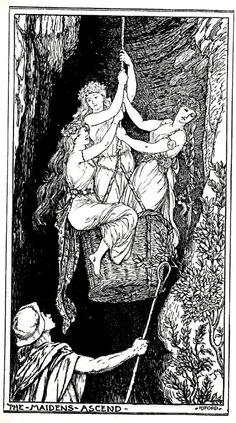 Shepherd Paul H.J. Ford The Crimson Fairy Book, Andrew Lang