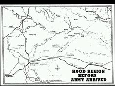 Early map of the Camp Hood region before Army arrived