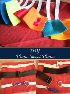diy home sweet home: 16+ HOUR road trip with a Toddler and Preschooler {2 of 2}- busy book