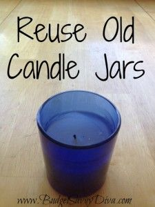 Clean Up Old Candles to Reuse | Budget Savvy Diva