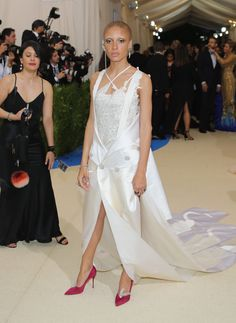 Adwoa Aboah in Conner Ives and Astley Clarke jewelry