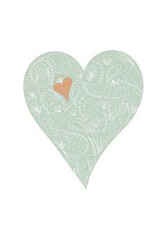 Heart this. #blue #heart