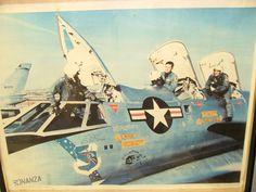B-58 Hustler and crew