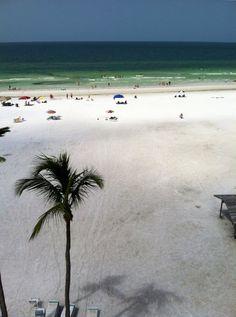 Siesta Key Beach, Florida, voted one of the ten best beaches.  Baby powder sand.