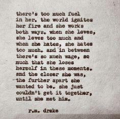 . . .until she met him.