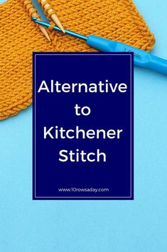 Russian Grafting - an Alternative to Kitchener Stitch Knitting Help, Knitting For Beginners, Loom Knitting, Knitting Socks, Knitting Stitches, Hand Knitting, Knitting Patterns, Knitting Kits, Circular Knitting Needles
