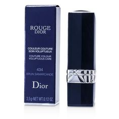 Christian Dior Rouge Dior Couture Colour Voluptuous Care - # 434 Brun Samarcande --3.5g-0.12oz By Christian Dior