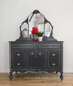 General Finishes Milk Paint Queenstown Grey Dresser, Light Distress, Winter White Glaze by Captiva Home Decor Furniture Styles, Cheap Furniture, Discount Furniture, Online Furniture, Kids Furniture, Painted Furniture, Furniture Design, Kitchen Furniture, Grey Furniture