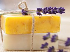 5 Cooling and Soothing Soap Recipes -Lavender, Almond, Peppermint, Aloe, and Uplifting Citrus