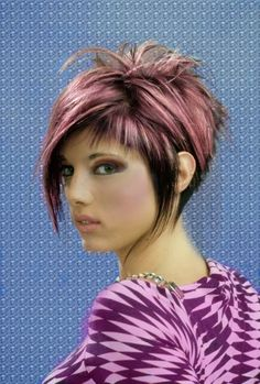 Impressive pixie haircuts in fabulous colors! Enjoy your hair!