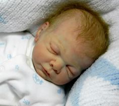 Micro Preemie Reborn baby boy (Rosebud by Cindy Musgrove) Delta Dawne mohair | eBay