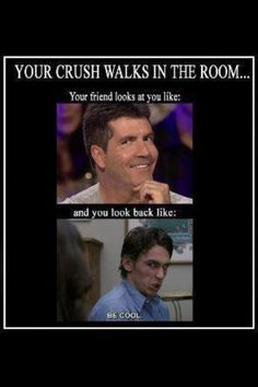 HAHAHAH!!! Oh, I have horror stories from junior high and my friends embarrassing me in front of my crush during gym.  Gah.