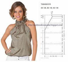 Moldes Moda por Medida: BLUSA FÁCIL DE FAZER-59