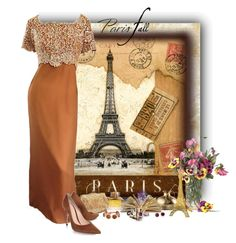 """Eu amo Paris"" by sil-engler on Polyvore featuring moda, Emma Domb, Burberry, Gianvito Rossi, Eddie Borgo e Blue Nile"