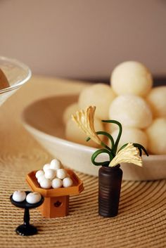 Japanese sweet for autumn moon