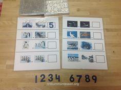First post on Antarctica Unit at Trillium Montessori