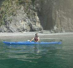 Kayaking at Duoglio Beach (Amalfi)