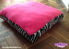 Cucha para perro o almohadones para palets, mediano 60 *60, My Violet  Myvioletdesigns.com