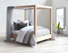 Hey, I found this really awesome Etsy listing at https://www.etsy.com/listing/508346696/modern-miniature-112-dolls-house-bed