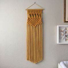 Macrame Patterns/Macrame Pattern/ Macrame Wall Hanging Pattern/Wall Hanging/Modern Macrame/Pattern/DIY/Title: Square Twist Chevron Pattern