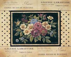 Cuadro Vintage Bouquet II