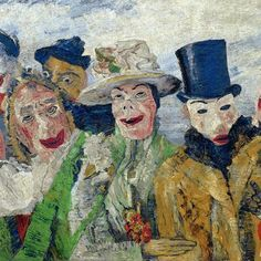 Happy birthday ||  James Ensor, lived  in Oostende for a While