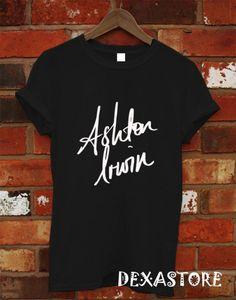 Ashton Irwin Shirt, 5SOS Shirt, 5 Second Of Summer Shirt, 5Sos Tshirt, 5Sos T Shirt, 5Sos Tee, Shirt Black or White RF-5